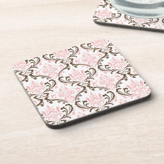 PixDezines Rossi Damask/DIY colors Coaster