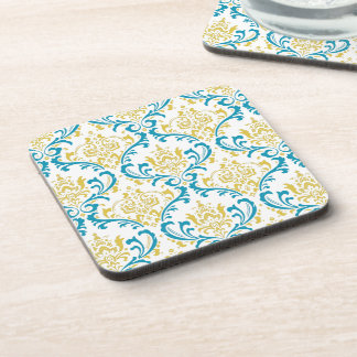 PixDezines Rossi Damask/DIY colors Drink Coasters