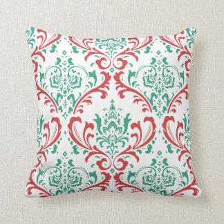 Red Teal Green PillowsDecorativeThrow PillowsZazzle