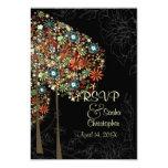PixDezines rsvp Autumn Blooms/DIY color Invitations