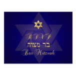 PixDezines rsvp Classic Mitzvah for 5x7 invites Postcard