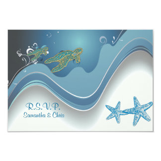 PixDezines rsvp honu+waves Card