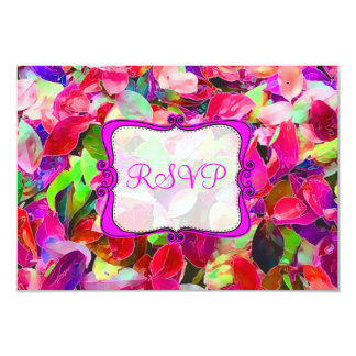 PixDezines rsvp jazzy fall/watercolor affect Card