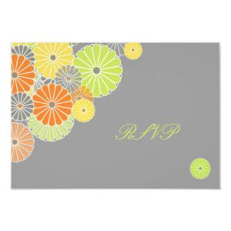 PixDezines rsvp, Kiku (chrysanthemum) Card