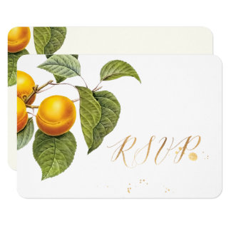 PixDezines RSVP Orchard/Peaches/Redoute Card