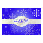 PixDezines rsvp Snowflakes, DIY background color! Invitation
