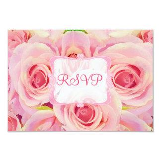 PixDezines rsvp spring bouquet/watercolor affect Card