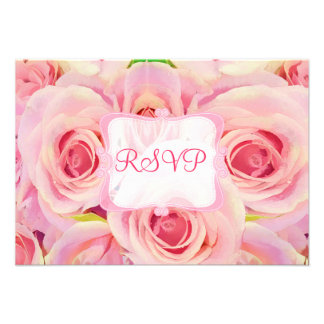 PixDezines rsvp spring bouquet watercolor affect Custom Invite