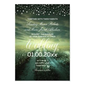PixDezines Rustic Outdoor/Starry Night Card