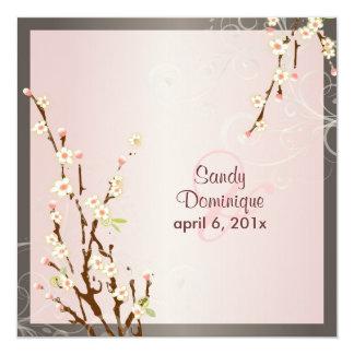 PixDezines Sakura Blossoms, DIY colors! Custom Announcements