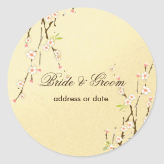 PixDezines sakura wedding stickers