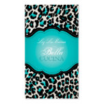 PixDezines Sassy cheetah print/diy background Double-Sided Standard Business Cards (Pack Of 100)