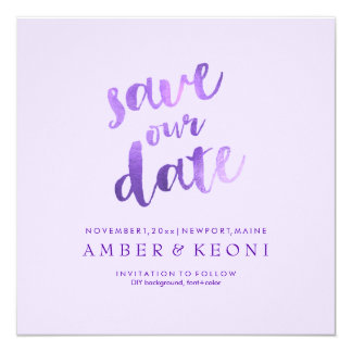 PixDezines Save Date/Lilac/Lavender/DIY Background Card