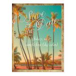 PixDezines/save the date/vintage hawaii Postcards