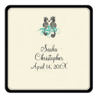 PixDezines seahorse/diy background fonts Invitation