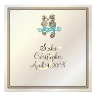 PixDezines Seahorse / Invitations