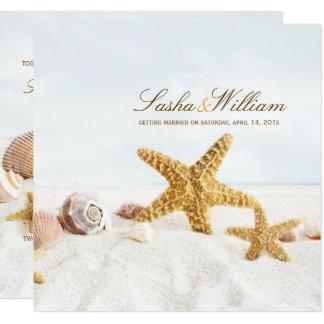 PixDezines Seashells/Beach Invitations/DIY Card