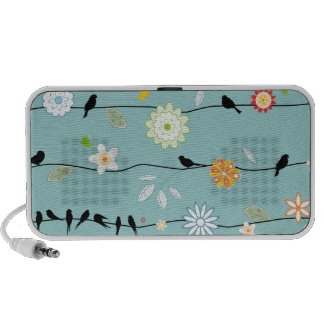 PixDezines Singing Birds ♥♥♥♥ Travelling Speakers