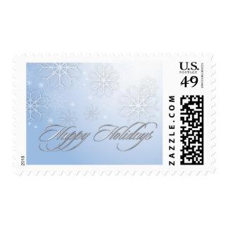 PixDezines Snowflake Winter, customizable color Stamp