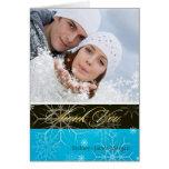 PixDezines Snowflakes / Photo Thank You Cards