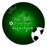 PixDezines Soccer Bar Mitzvah/DIY color Invitation