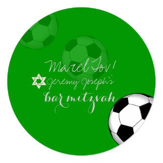 PixDezines Soccer Bat Mitzvah/DIY color Card