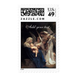 PixDezines Song of Angels, Holiday Greetings Postage