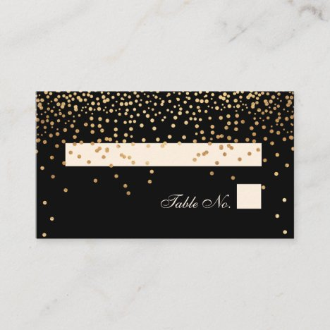 Gold/Place Cards