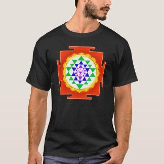 PixDezines Sri Yantra Chakra Clearing/Orange Glow T-Shirt