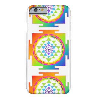 PixDezines Sri Yantra/mandala/arco iris Funda De iPhone 6 Barely There