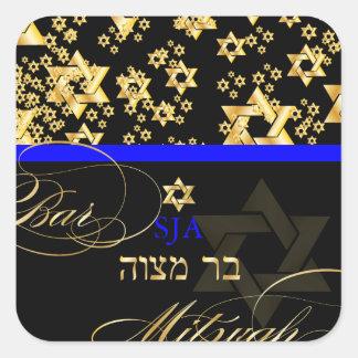 PixDezines Star of David/Bar Mitzvah Stickers