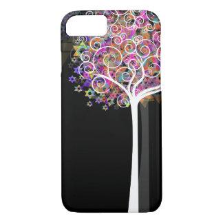 PixDezines star of david/tree of life iPhone 8/7 Case