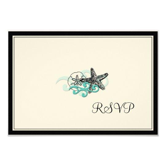 PixDezines Starfish RSVPs Card
