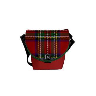 PixDezines stewart tartan Courier Bags