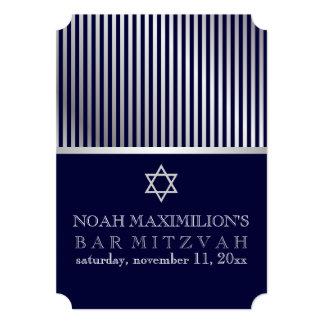 PixDezines stripes bar mitzvah/DIY colors Card