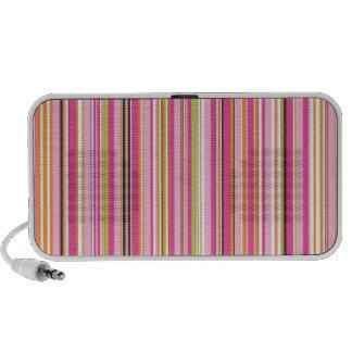 PixDezines Stripes Notebook Speaker
