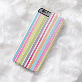 PixDezines stripes/watercolor affect Barely There iPhone 6 Case