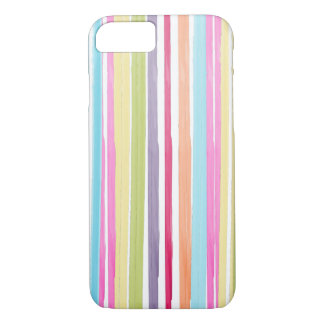 PixDezines stripes/watercolor affect iPhone 7 Case