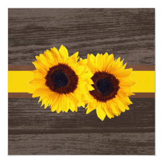 PixDezines sunflower/wood panels Card