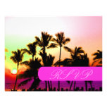 PixDezines Sunset at A-Bay RSVPs require 5x7 Custom Announcements