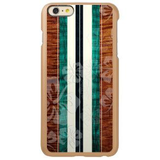 PixDezines Surf Board/Hibiscus/Faux Koa Incipio Feather Shine iPhone 6 Plus Case