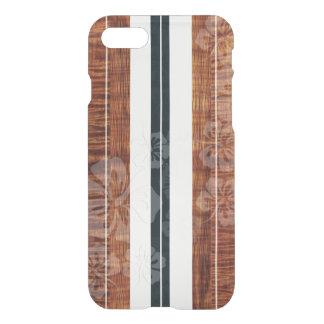PixDezines Surf Board/Hibiscus/Faux Koa iPhone 7 Case
