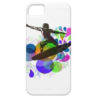 PixDezines Surfer Grunge iPhone SE/5/5s Case