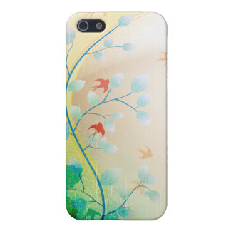 PixDezines Swallows Case For iPhone SE/5/5s