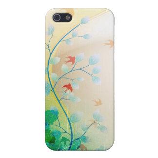 PixDezines Swallows iPhone SE/5/5s Cover