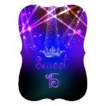 PixDezines Sweet 15, Laser Lights/Neon Lights Card