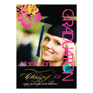 PixDezines Swirls 2012 Graduation Custom Color Announcements