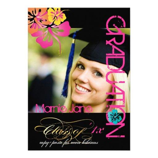 PixDezines Swirls, 2012 Graduation, Custom Color Announcements