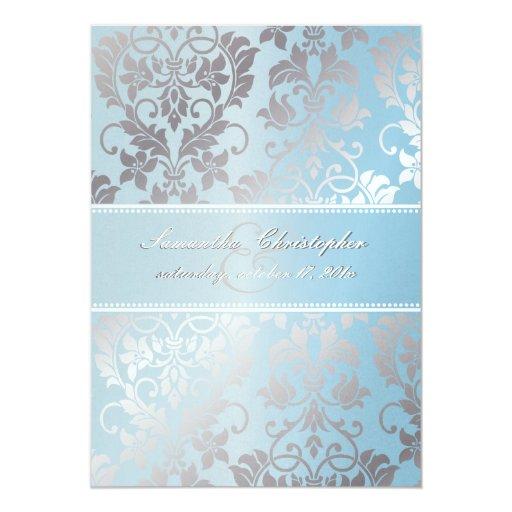 PixDezines Tanza Rose+Silver/Powder Blue+Grey Card