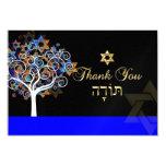 PixDezines thank you, tree of life 3.5x5 Paper Invitation Card